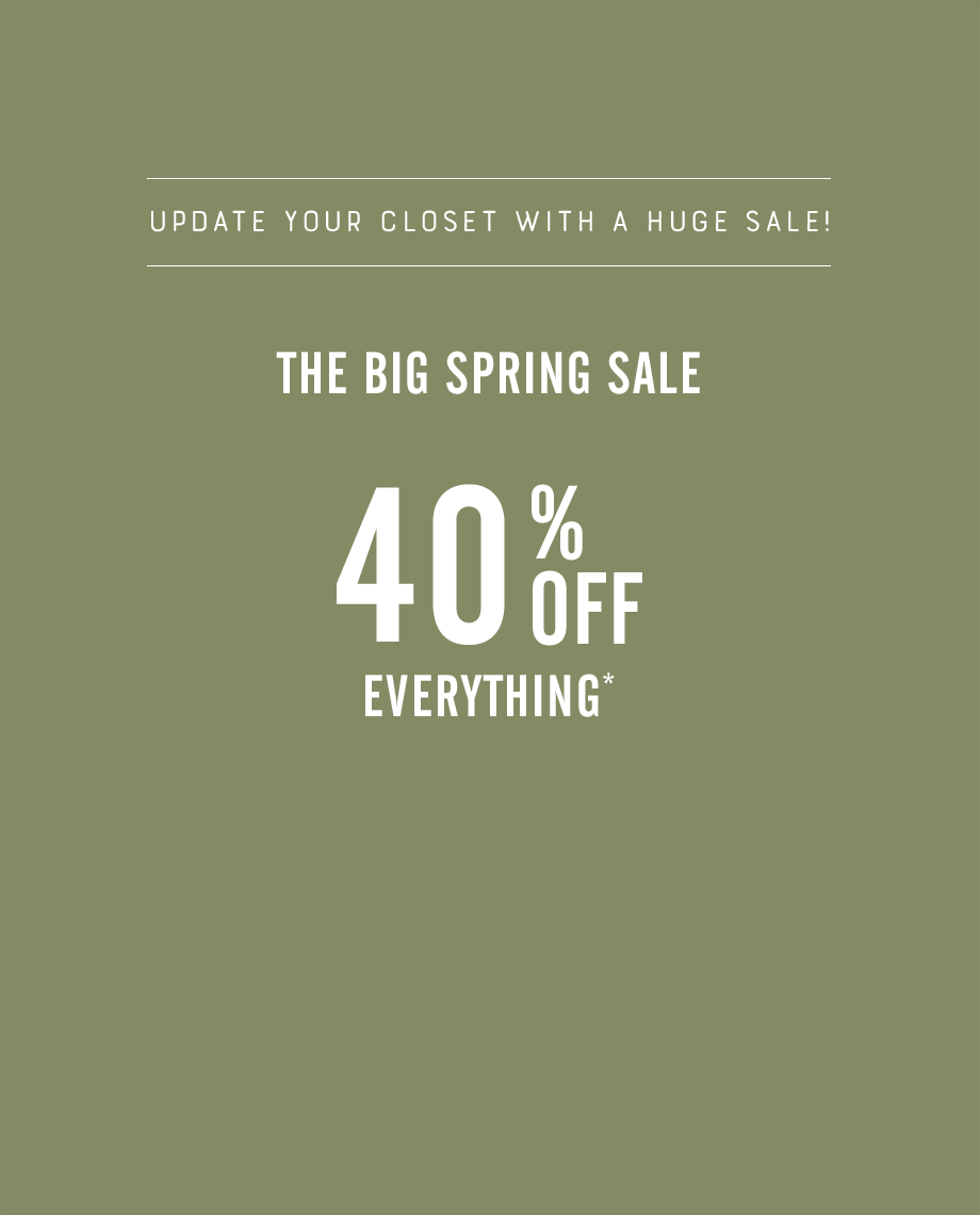 dccaceb379d 40% Off Everything 40% Off Everything