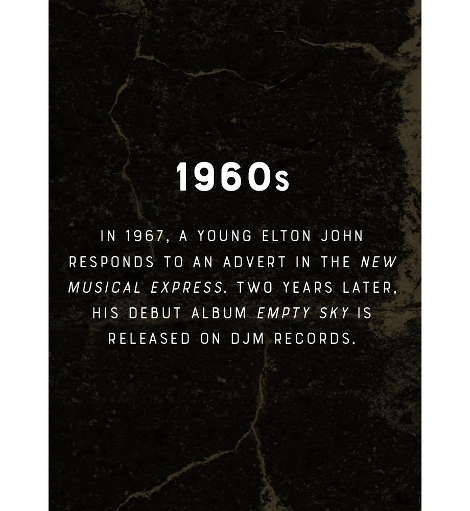 Elton John 1960s