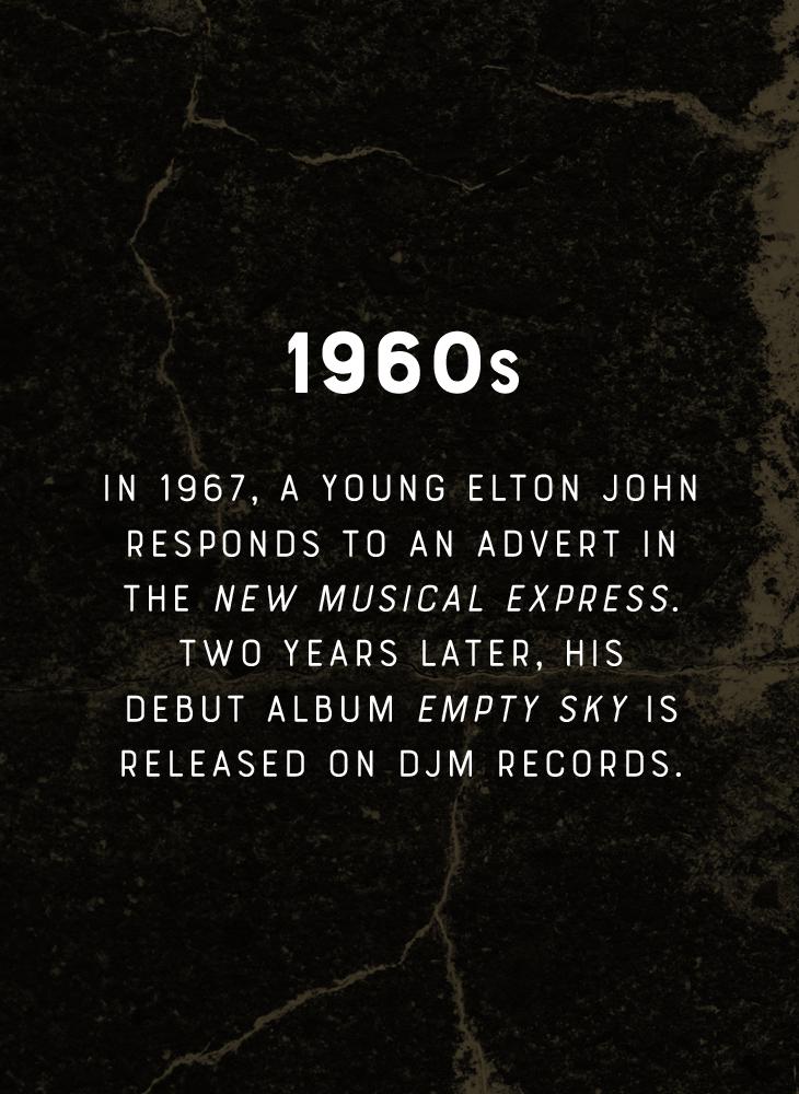 Elton John - 1960s