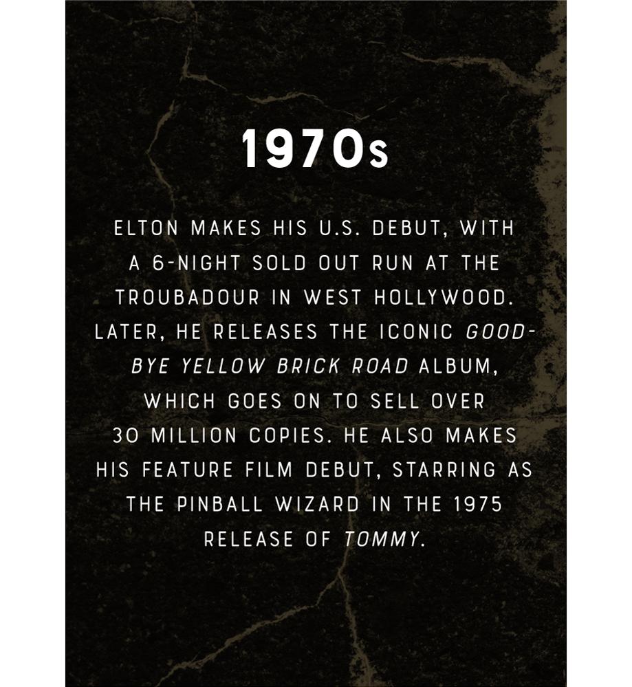 Elton John 1970s