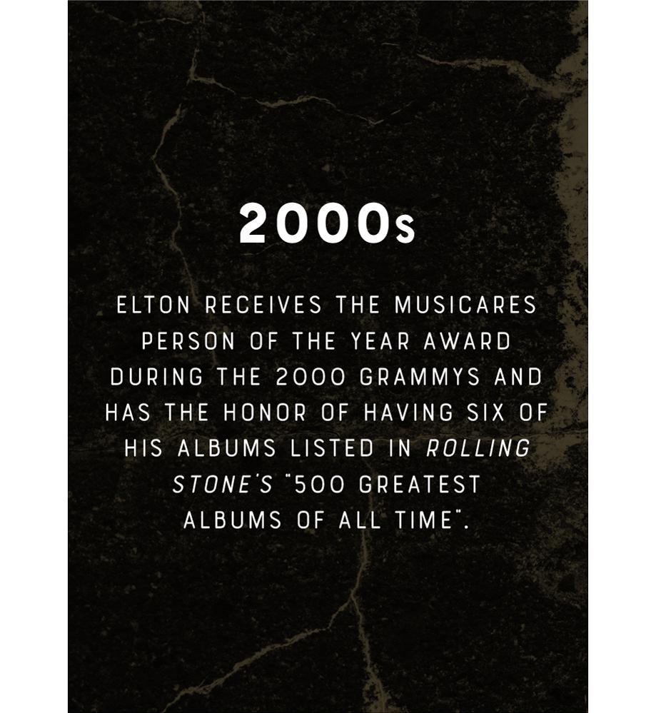 Elton John 2000s