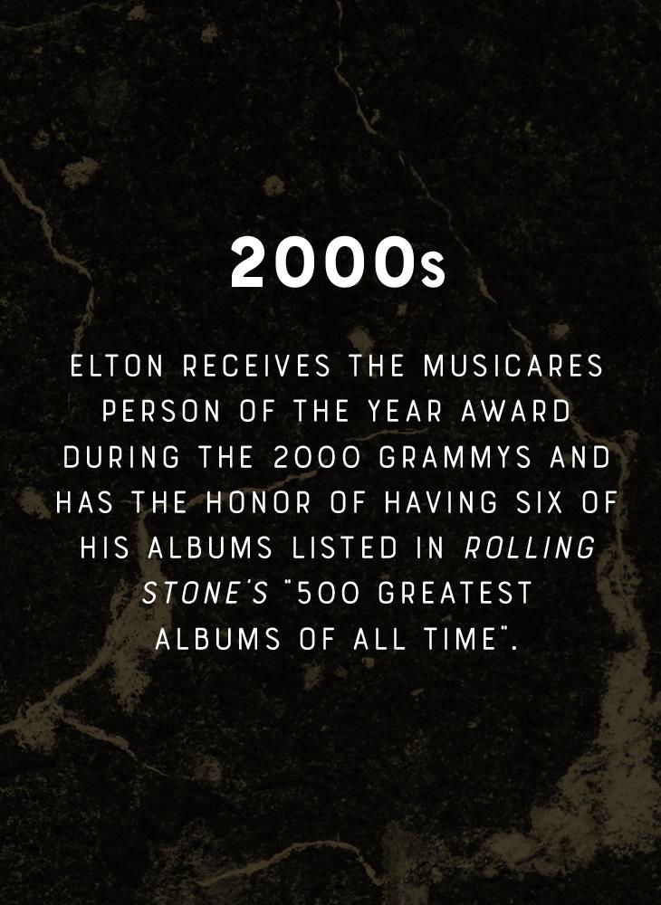 Elton John - 2000s