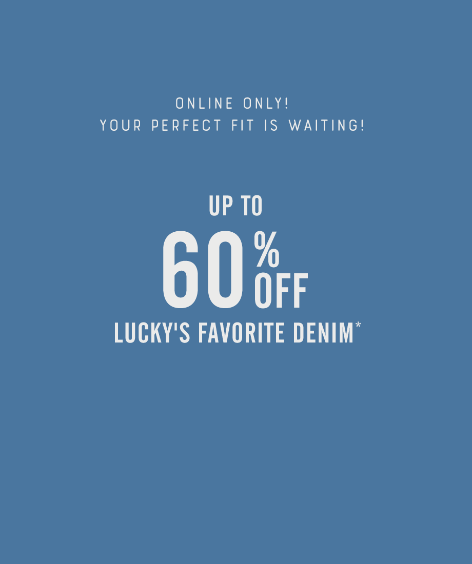60% Off Denim