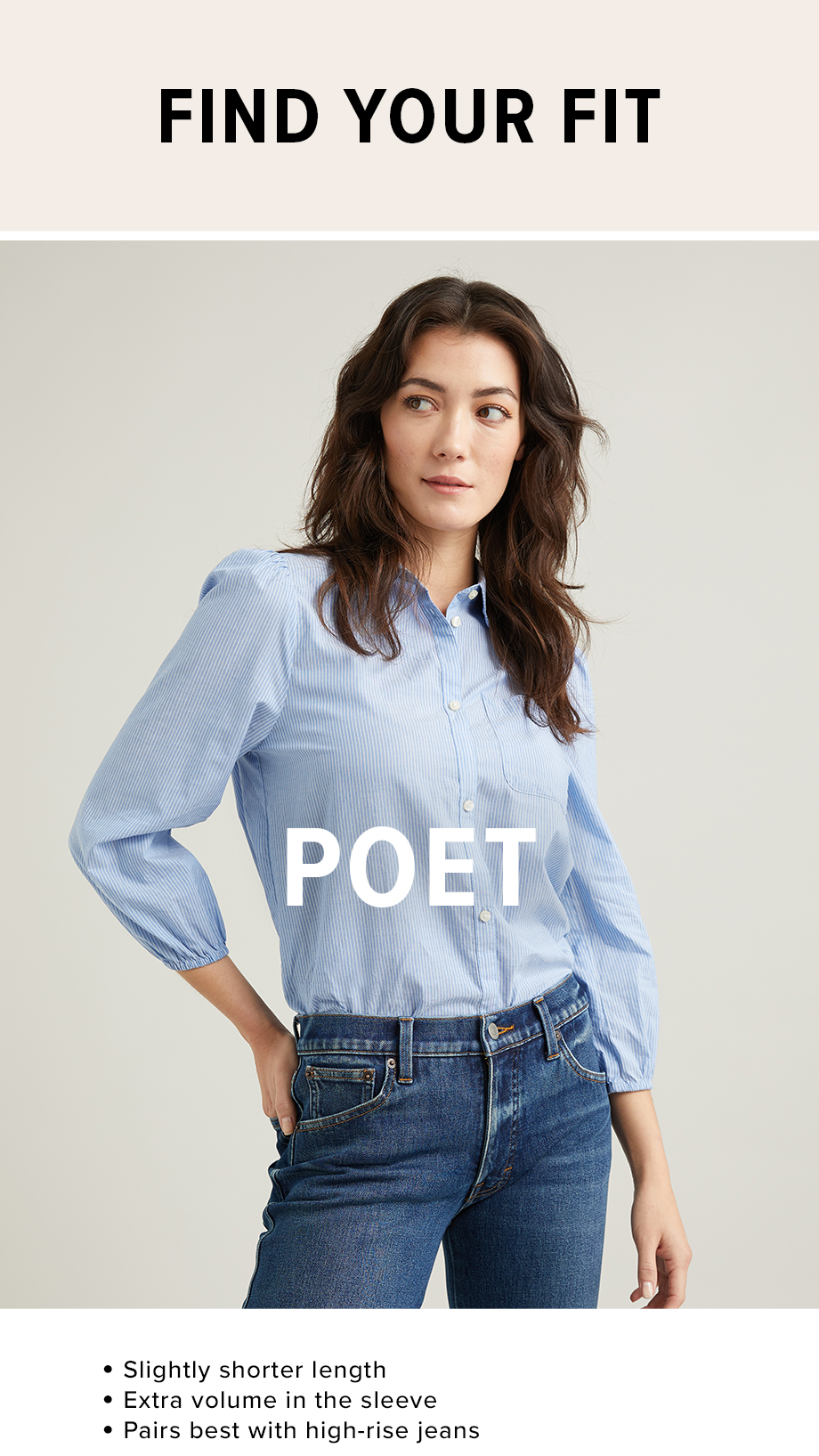 poet fit shirt