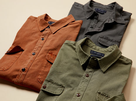 Soft and sustainable TENCEL™️ button-downs