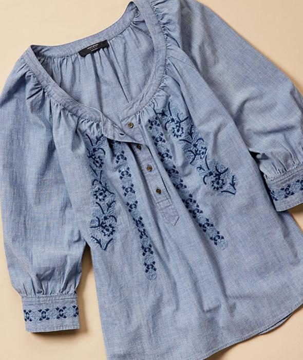 Light fabrics and soft feminine details starting at $21