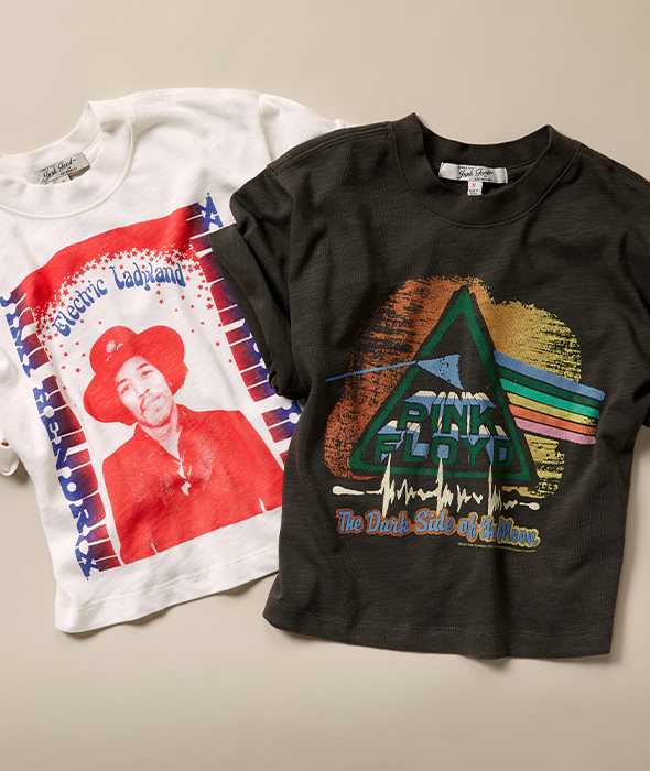 Vintage vibes, iconic acts, bold & beautiful prints