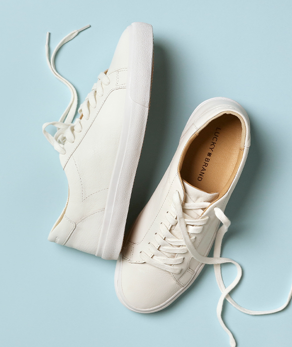 Kick back in comfort with easy-does-it sneakers & flats