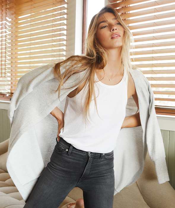Our new one-size-fits-many Uni Fit jeans for $90.30