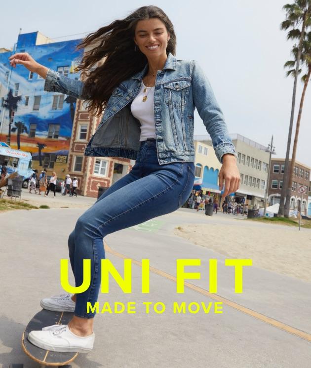 Uni Fit High Rise Skinny Jean